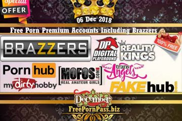 06 Dec 2018 Free Porn Premium Accounts Including Brazzers