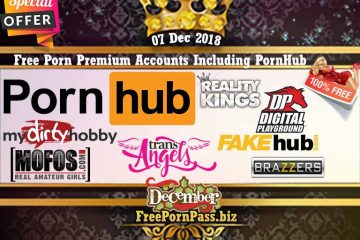 07 Dec 2018 Free Porn Premium Accounts Including PornHub