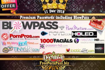 11 Dec 2018 Premium Passwords including BlowPass