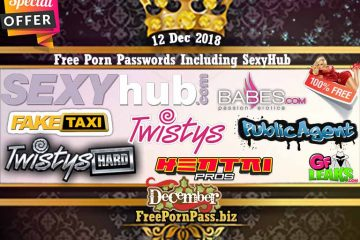 12 Dec 2018 Free Porn Passwords Including SexyHub