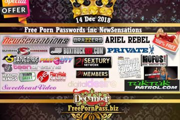 14 Dec 2018 Free Porn Passwords inc NewSensations