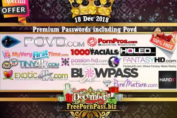 18 Dec 2018 Premium Passwords including Povd