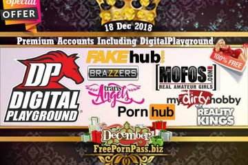18 Dec 2018 Free Porn Premium Accounts Including DigitalPlayground