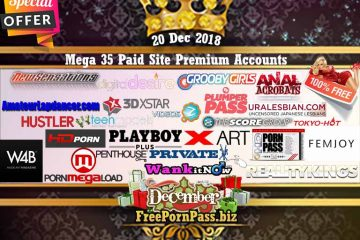 20 Dec 2018 Mega 35 Paid Site Premium Accounts