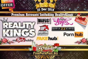 25 Dec 2018 Free Porn Premium Accounts Including RealityKings