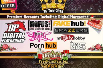 26 Dec 2018 Free Porn Premium Accounts Including DigitalPlayground
