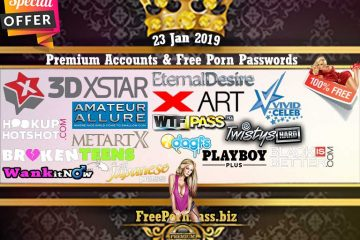 23 Jan 2019 26 Premium Accounts & Free Porn Passwords