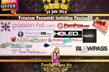 24 Jan 2019 Premium Passwords including PassionHD