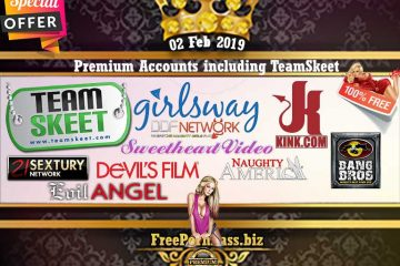 02 Feb 2019 Premium Accounts including TeamSkeet