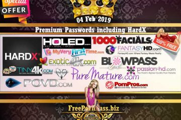 04 Feb 2019 Premium Passwords including HardX