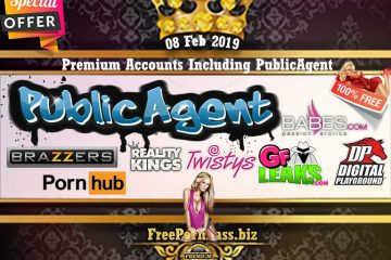 08 Feb 2019 Free Porn Premium Accounts Including PublicAgent