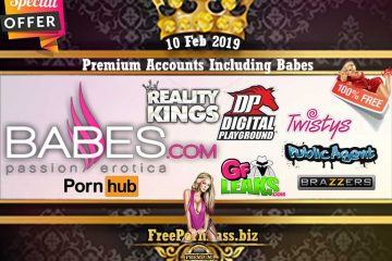 10 Feb 2019 Free Porn Premium Accounts Including Babes