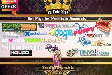 12 Feb 2019 16 Hot Paysites Premium Accounts