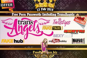 13 Feb 2019 Free Porn Passwords Including TransAngels