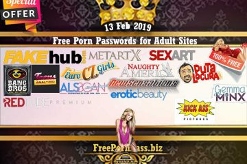 13 Feb 2019 17 accounts Free Porn Passwords for Adult Sites
