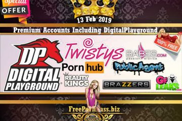 13 Feb 2019 Free Porn Premium Accounts Including DigitalPlayground