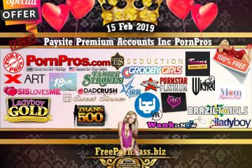 15 Feb 2019 Paysite Premium Accounts Inc PornPros