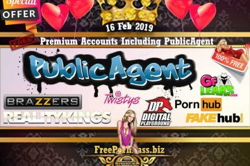 16 Feb 2019 Free Porn Premium Accounts Including PublicAgent
