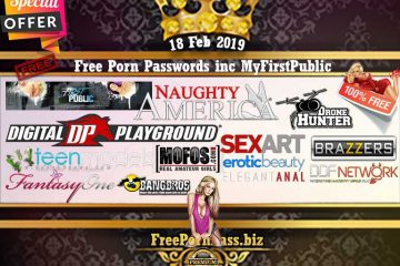 18 Feb 2019 Free Porn Passwords inc MyFirstPublic
