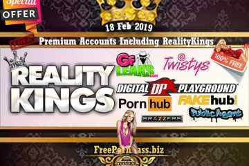 18 Feb 2019 Free Porn Premium Accounts Including RealityKings