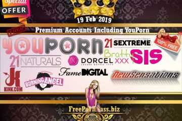 19 Feb 2019 Premium Accounts Including YouPorn