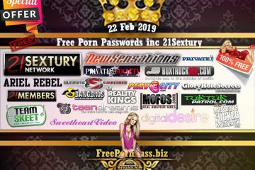 22 Feb 2019 Free Porn Passwords inc 21Sextury