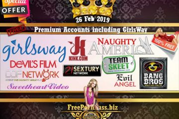 26 Feb 2019 Premium Accounts including GirlsWay