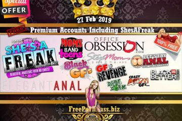 27 Feb 2019 Premium Accounts Including ShesAFreak