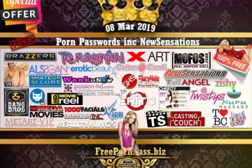 08 Mar 2019 Free Porn Passwords inc NewSensations