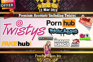 12 Mar 2019 Free Porn Premium Accounts Including Twistys