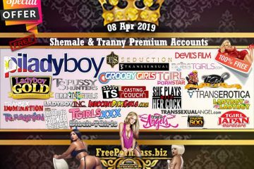 Shemale & Tranny Premium Accounts
