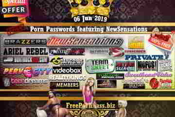 06 Jun 2019 Free Porn Passwords featuring NewSensations