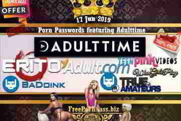 17 Jun 2019 Free Porn Passwords featuring Adulttime