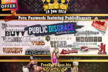 18 Jun 2019 Free Porn Passwords featuring PublicDisgrace