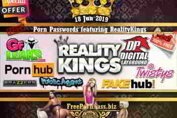 18 Jun 2019 Free Porn Passwords featuring RealityKings