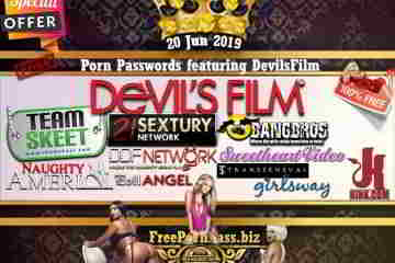 20 Jun 2019 Free Porn Passwords featuring DevilsFilm