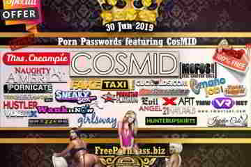 30 Jun 2019 Free Porn Passwords featuring CosMID