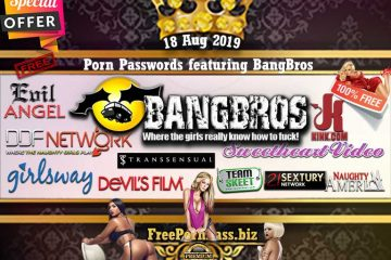 18 Aug 2019 Free Porn Passwords featuring BangBros